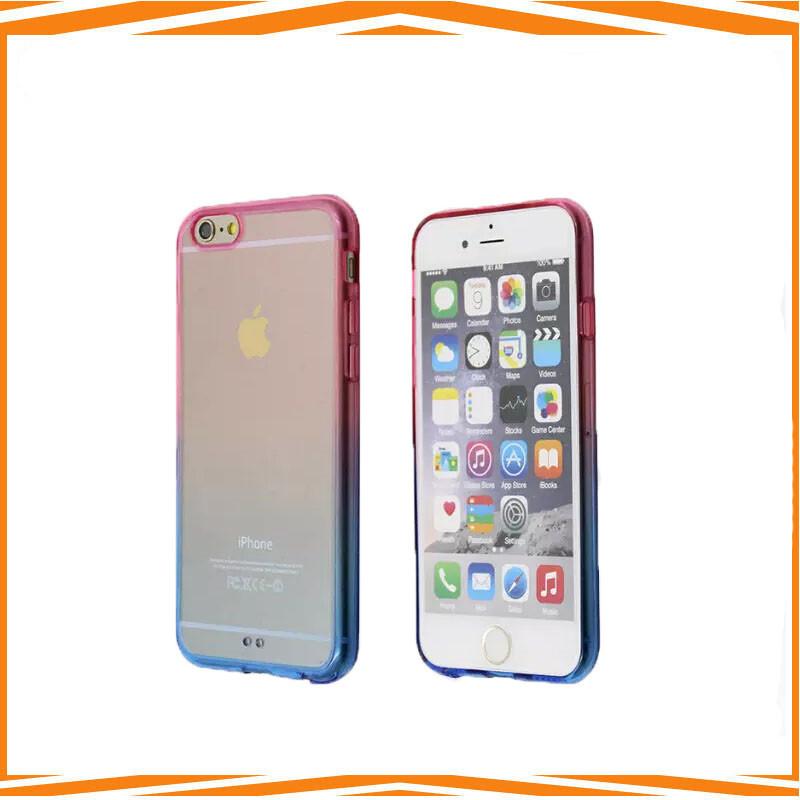 Ultra- dunne transparante duidelijk tpu dekking van het geval voor s6 rand slanke siliconen telefoon shell geval van de dekking(China (Mainland))