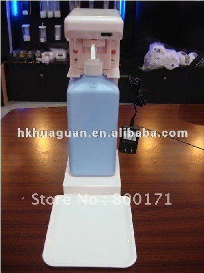 300-1500ML Bottles Refillable Bathroom Disinfectant Alcohol Gel Machine(China (Mainland))
