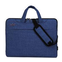 Saco do portátil Para Macbook Air Caso Laptop Manga Saco 15.6 Notebook 14 15.6 Polegada 13 Ombro Bolsa Para Dell HP lenovo Asus Acer(China)