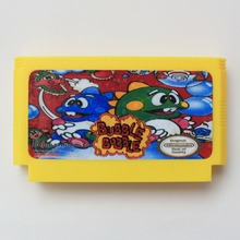 Buy Bubble Bobble Part One 60 Pins Game Card 8 Bit D99 Game Player for $4.75 in AliExpress store