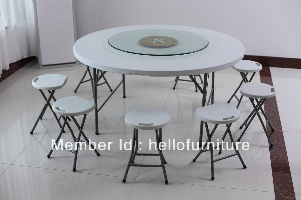 Buy round plastic tables for sale outdoor for Outdoor tables and chairs for sale