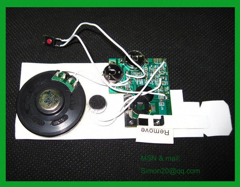 New factory good price voice recording module(China (Mainland))