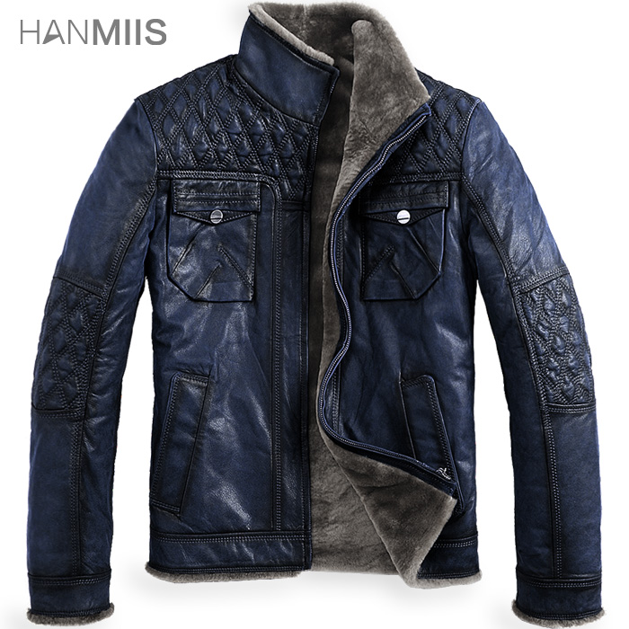 Hanmiis b3 fur one piece male cowhide fur jacket vintage outerwear genuine leather clothingОдежда и ак�е��уары<br><br><br>Aliexpress