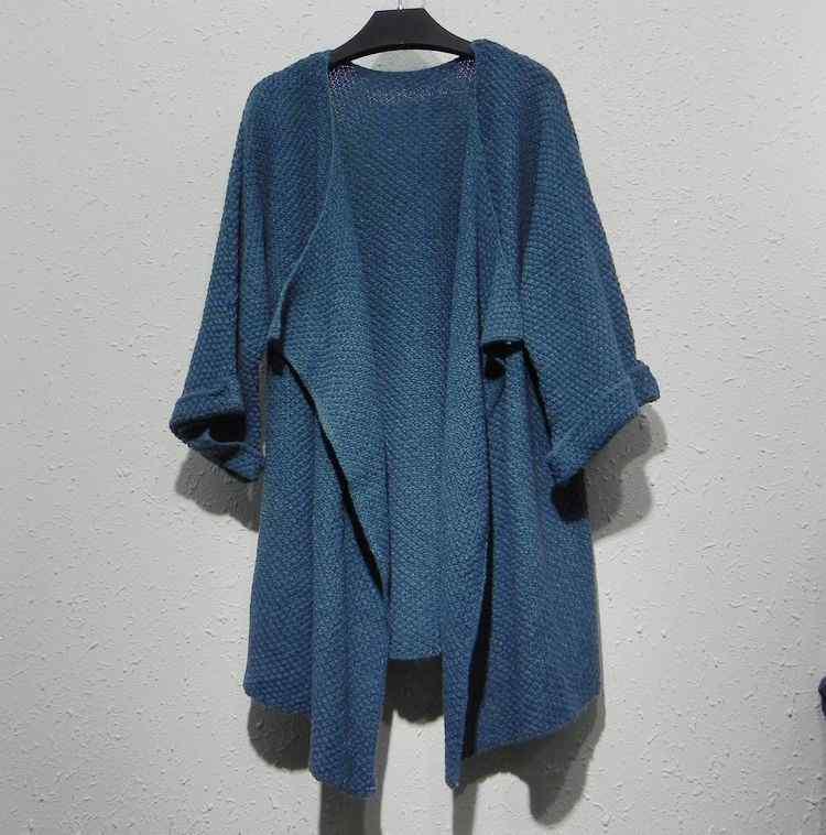 New export irregularly Cardigan shawl ladies knitted sweater Cardigan(China (Mainland))