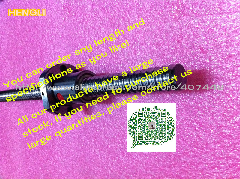 Ball Screw SFU1610 L500mm end machined Ballscrew Single Ballnut CNC - lishui city hengli Automation Technology co., ltd. store