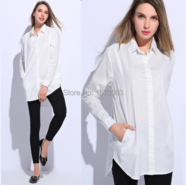 Long sleeve cotton shirts women s is shirt for Womans long sleeve shirts