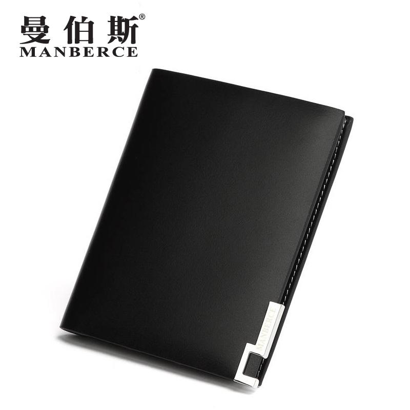 fashion men    horizontal   cowhide short   genuine leather wallets brand male wallet purse men<br><br>Aliexpress