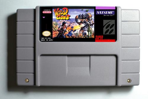 Action Game Cartridge - Wild Guns USA Version English Language<br><br>Aliexpress