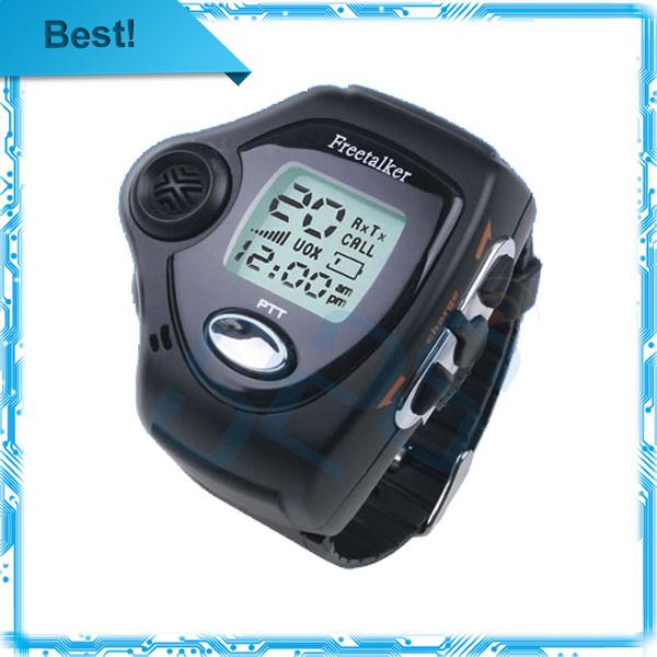 2pcs/lot Brand New wrist watch walkie talkie two way radio talkie walkie Free Talker RD-820 free shipping(China (Mainland))