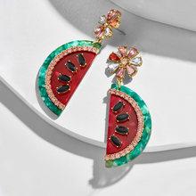 PPG&PGG New ZA 2019 Crystal Drop Earrings for Women BA Jewelry Colorful Bohemian Wedding Handmade Party Dangle Earings(China)