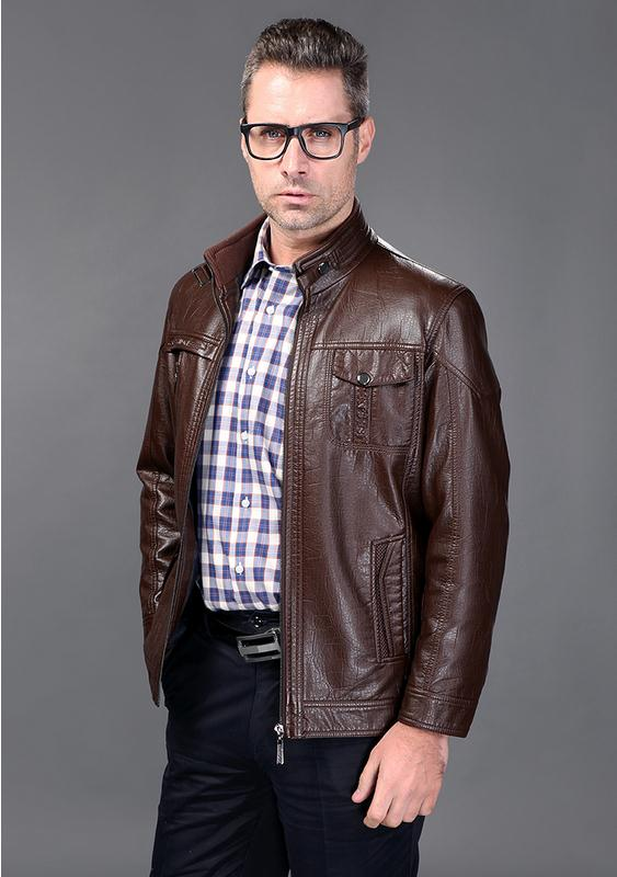 Mens Dress Leather Jacket - JacketIn