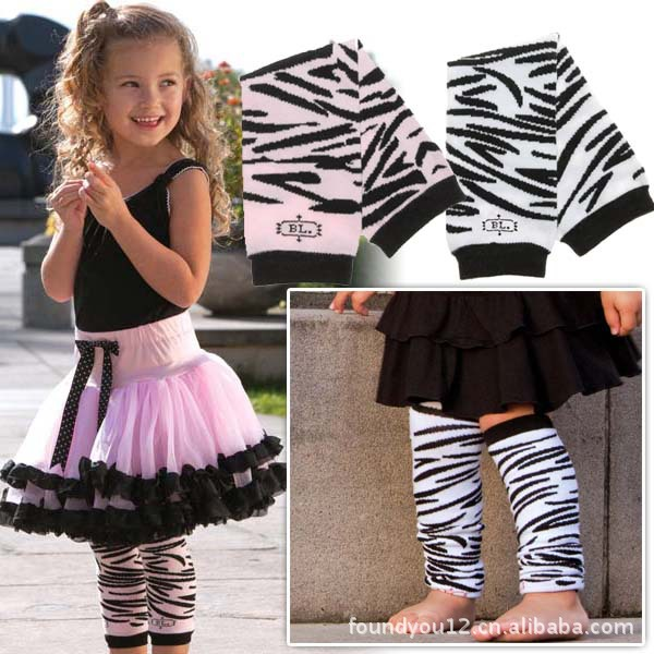 Stripe Leggings Baby Leg Warmers Legwarmer Knee Pads For Toddlers Crawling Genouillere Enfant Protector Child Tights Wholesale(China (Mainland))