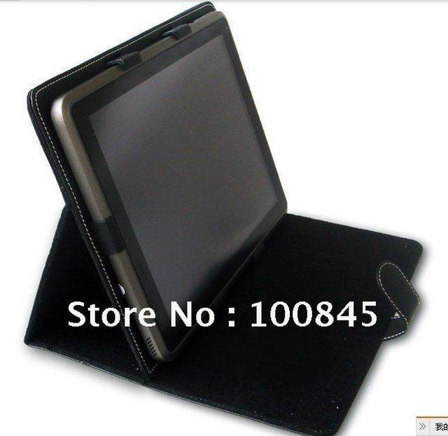 """wholesale 9.7"""" Leather Case with Stand for Cube U9GTV , Yuandao N90, Onda v972, Teclast A10t, etc Multi-angel"""