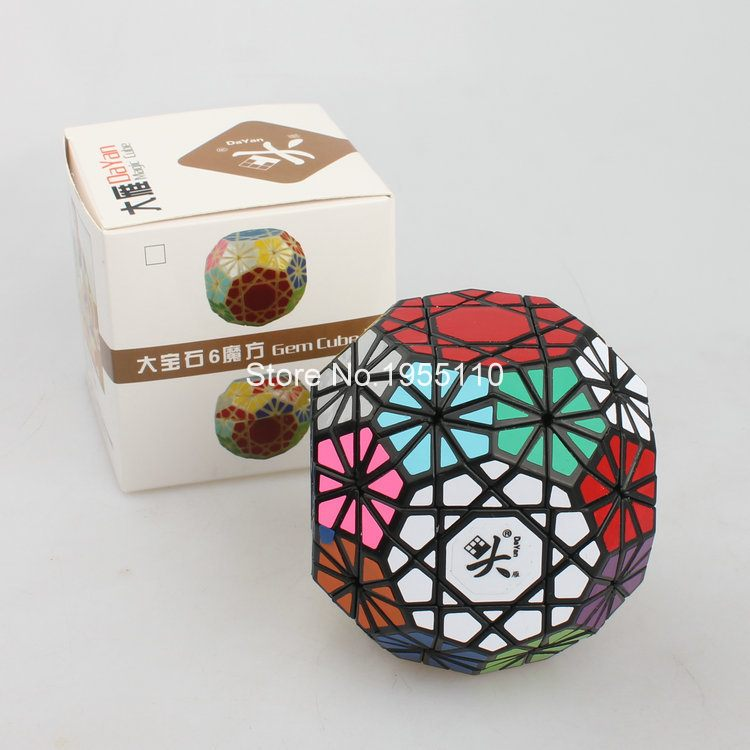 Dayan Gem Cube V6 Puzzle Speed Magic Cube Educational Toy Special Toys challenging toys<br><br>Aliexpress