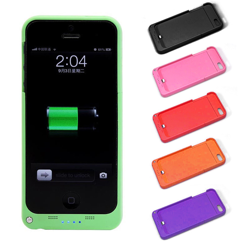 hot sell External Battery Backup Charger Case Pack Power Bank for iPhone 5 5S #L014144(China (Mainland))