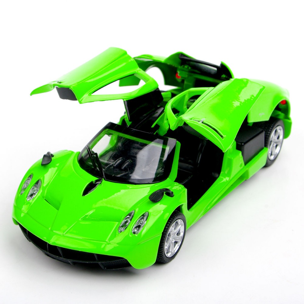 New Fashion Green Pagani Zonda Vehicle Model Car 1/32 Alloy Diecast Car Model w/light&sound Kids Toys Collections Gifts B(China (Mainland))