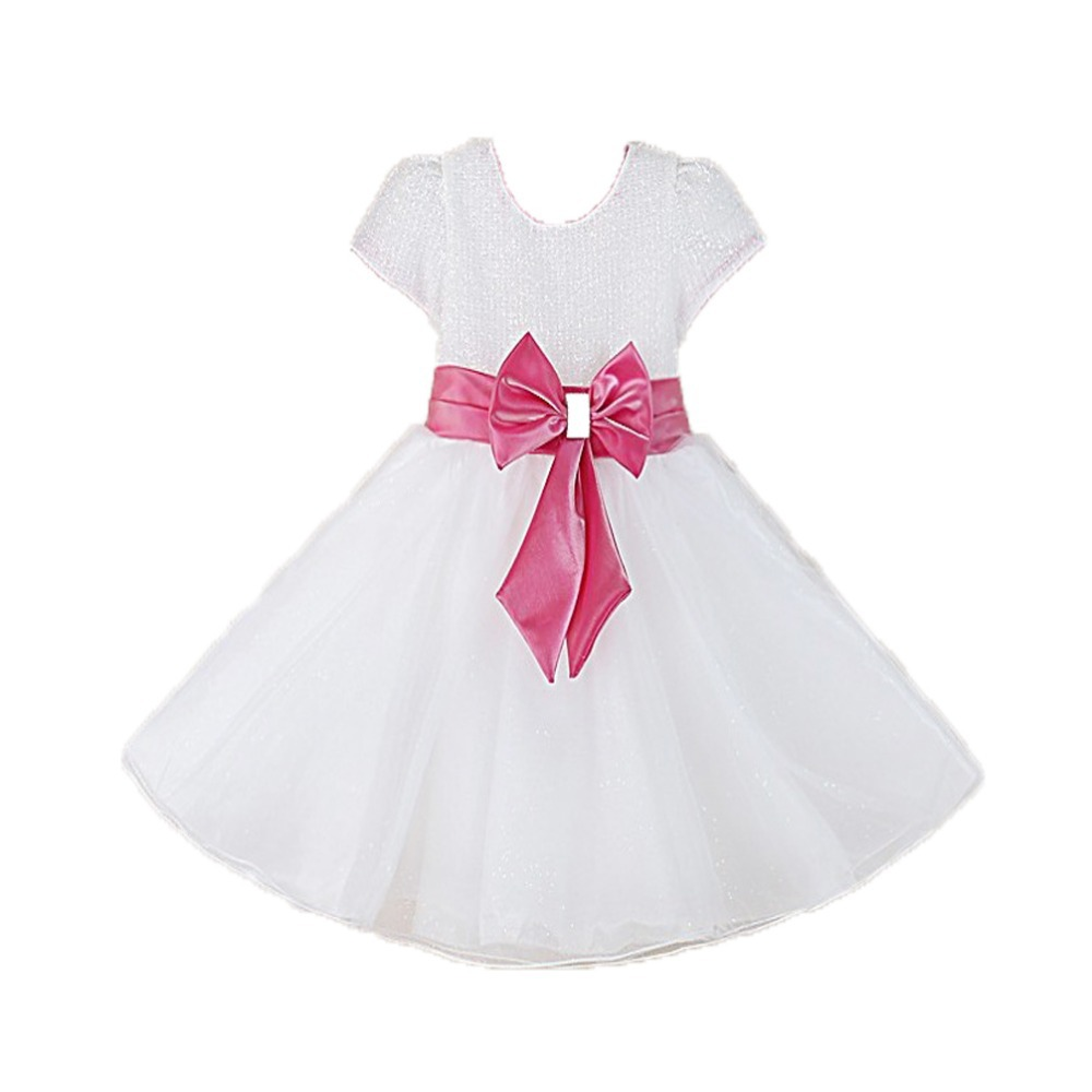 white color party dress baby girl tutu dance dress<br><br>Aliexpress