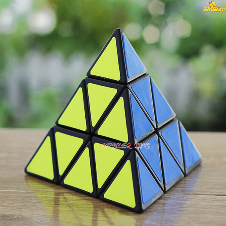 10PCS Triangle Pyramid 3*3*3 Pyraminx third-order Magic Cube Speed Puzzle Twist Cubes Educational Toys free shipping<br><br>Aliexpress