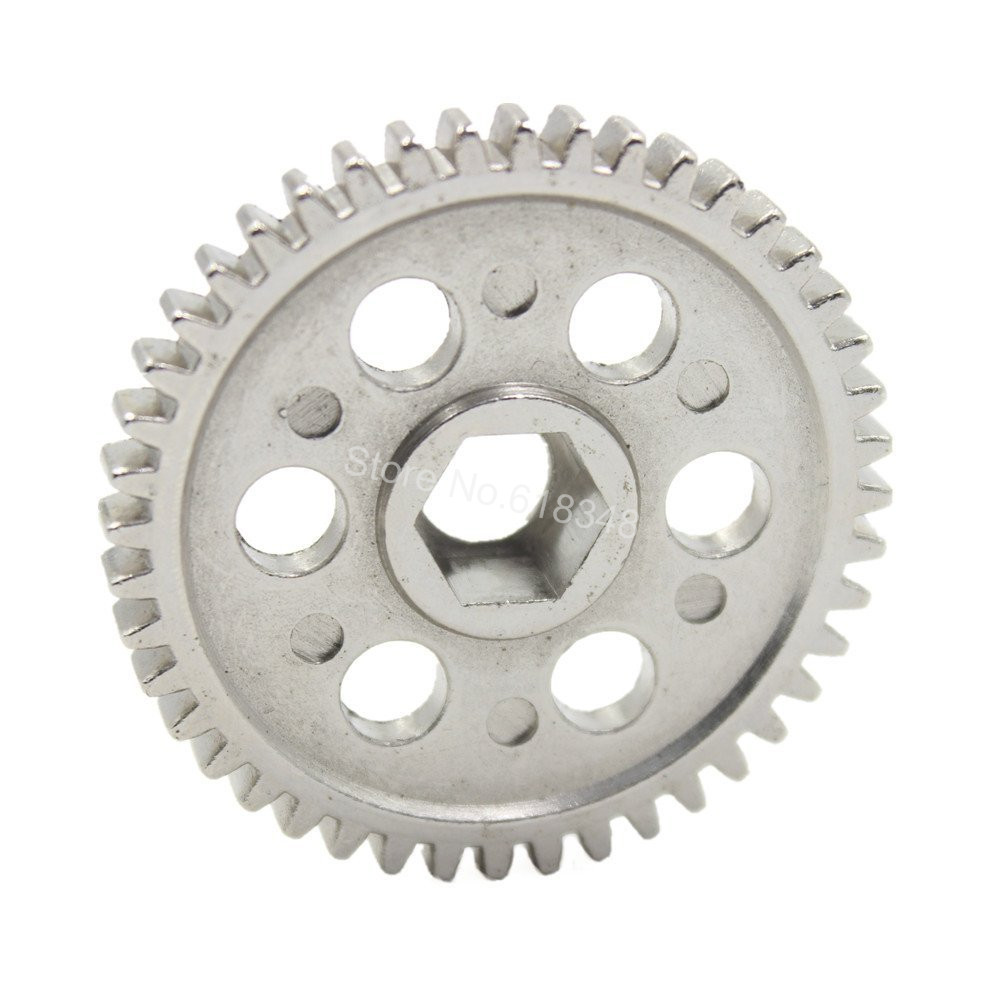 10pcs /Lot HSP 02040 Steel Metal 44T Spur Gear Upgrade Parts Fit 2 speed RC Car Sonic Redcat Lightning STR 1/10 Road