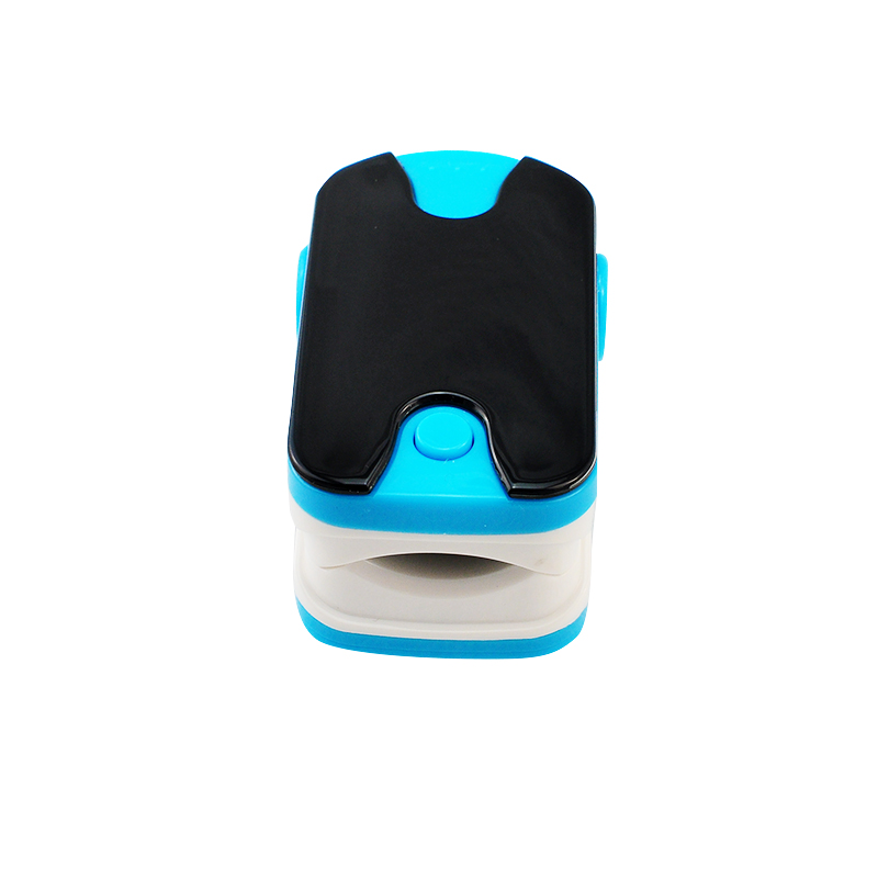 New Color Blue OLED Fingertip Pulse Oximeter With Audio Alarm & Pulse Sound - Spo2 Monitor Finger Puls Oximeter 200150
