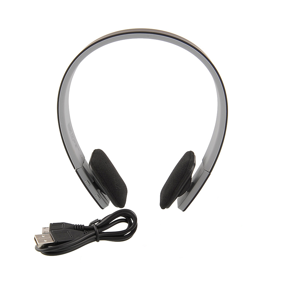 new wireless bluetooth stereo headphone headset mic fit for laptop phones for ps3 skype lenovo. Black Bedroom Furniture Sets. Home Design Ideas