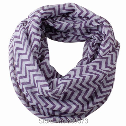 2015 Autumn Winter Fashion Women Comfortable Soft Striped Wave Printing Ring Scarf Circle Scarves Warp - Shenzhen Sundah Tech Co., Ltd.(Craft & Gift Dept. store)