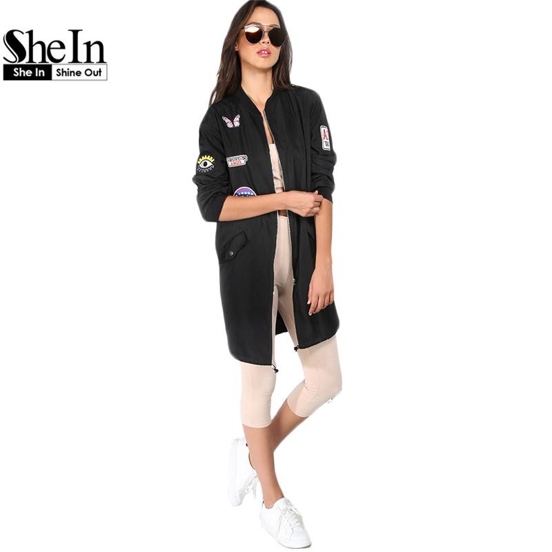 Online kaufen gro handel schwarz cord jacke aus china for Shein frauen mode