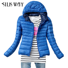 5 Color 2015 New Winter Jacket Women Outerwear Slim Hooded Down Jacket Woman Warm Down Coat
