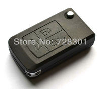 Replacement Fob Remodel Case Uncut Blank Flip Folding Remote Key Shell For Lada Key With 3 Buttons