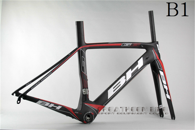 2014 New Model BH G6 B1 carbon road frame carbon full suspension BH G6 carbon road bike frame carbon frame road 2015 cube bike(China (Mainland))