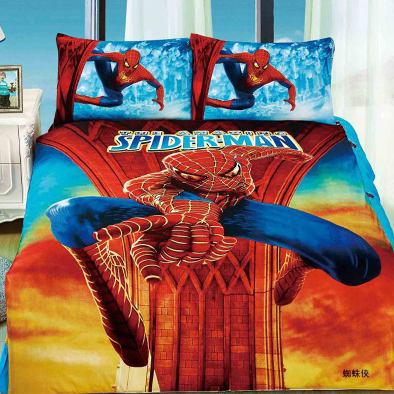 spiderman couette ensemble achetez des lots petit prix spiderman couette ensemble en. Black Bedroom Furniture Sets. Home Design Ideas