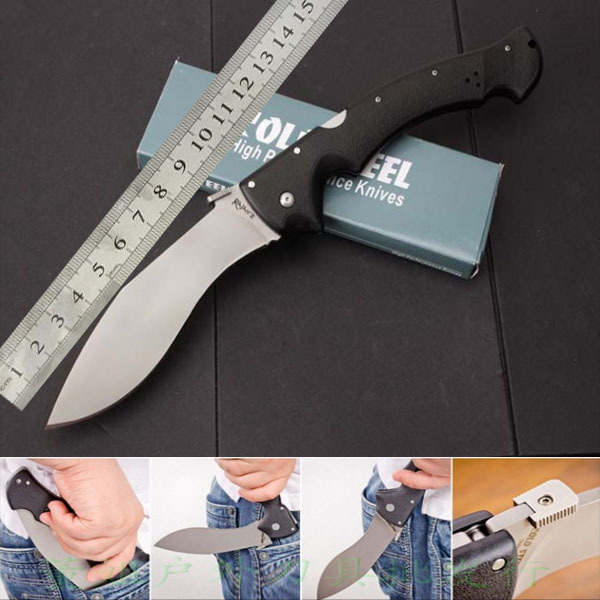 New models of large -62KG tactical folding knife fixed blade hunting knife camping survival tool, cold steel jungle adventure(China (Mainland))