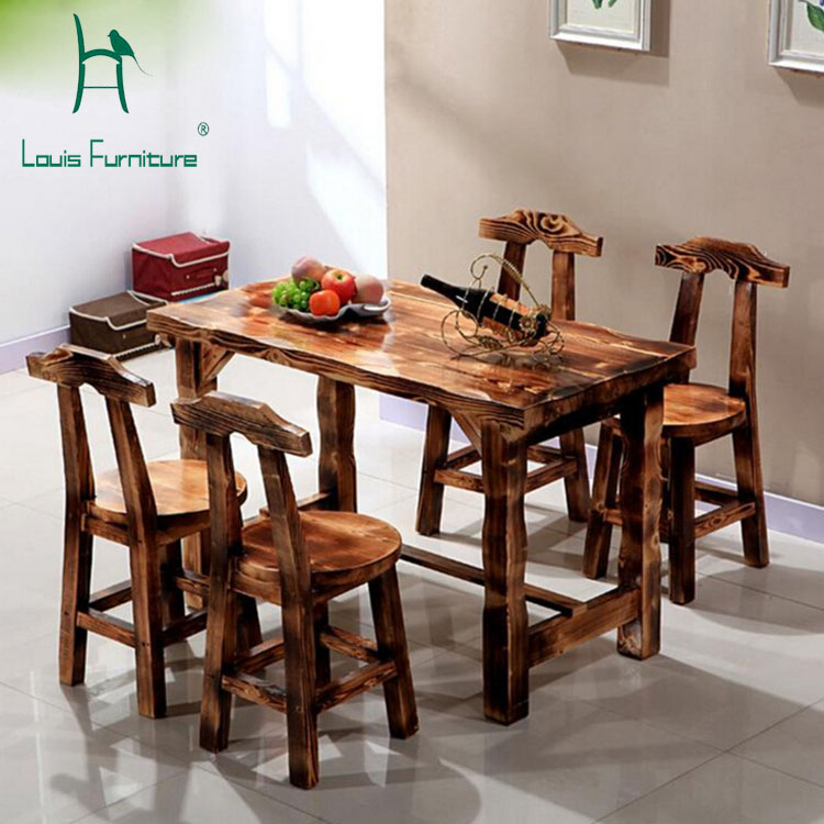 Popular Pine Dining Set Buy Cheap Pine Dining Set Lots From China Pine Dining