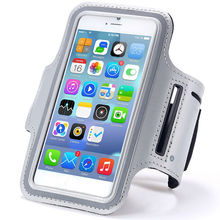 """Gray Waterproof Sport Armband Case for iphone 6 4.7"""" Gymnasium Activities Accessories Running Phone Pouch Cover"""