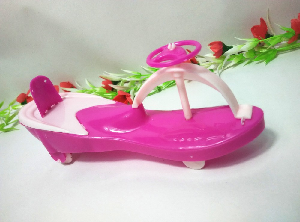 Swaying Automobile Furnishings Mini Equipment for Barbie Doll Home Traditional Toys for Kelly doll Cute Present Woman Free Transport