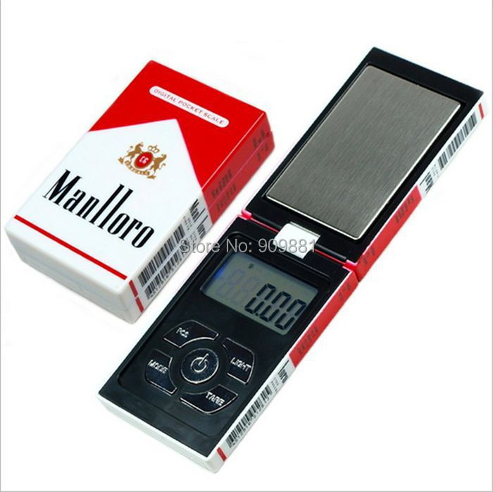 100g 0.01g Mini Electronic Pocket Jewelry Scales 0.01g Digital Gram Cigarette Case Weight Scale Portable Personal Balances(China (Mainland))