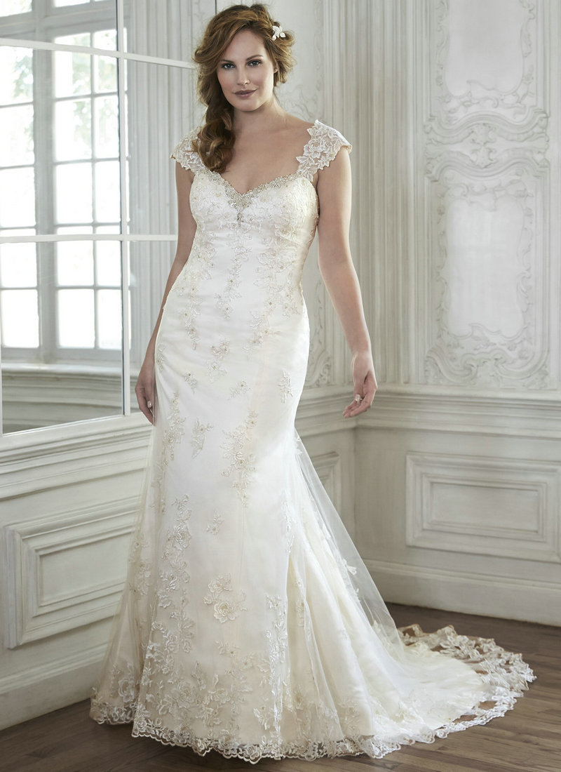 romantic vintage wedding dresses lace organza sweetheart