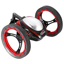 Hot Sale RC Jumping Bounce Cars NO.777 - 359 4CH 2.4GHz Radio Control Bounce Car with Flexible Wheels Robot RC Car Child toys(China (Mainland))