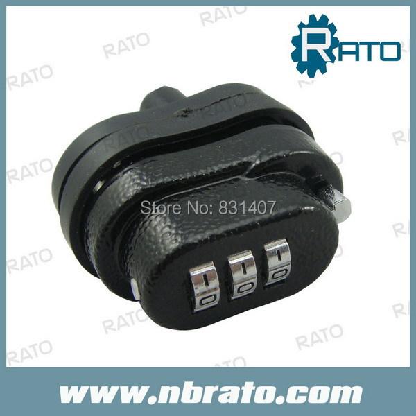 Free Shipping Master Lock 3-Digit Combination Gun Lock(China (Mainland))