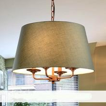 Buy American restaurant Pendant Lights Nordic retro country iron lamps lighting retro minimalist bedroom study garden ZA for $218.00 in AliExpress store