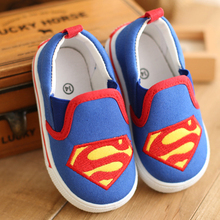 Hot selling Children shoes for boys and girls ,classic (KT cat/superman/spiderman) kids sneakers fashion child casual shoes(China (Mainland))
