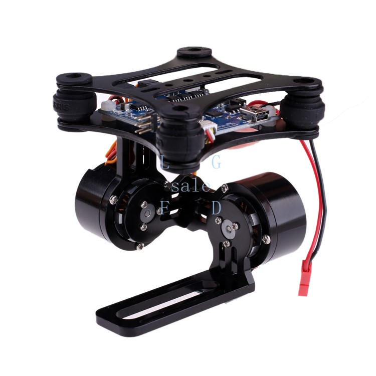 Camera Mount CNC Brushless Gimbal PTZ Motors Controller for GoPro Cameras for DJI Phantom 22(China (Mainland))