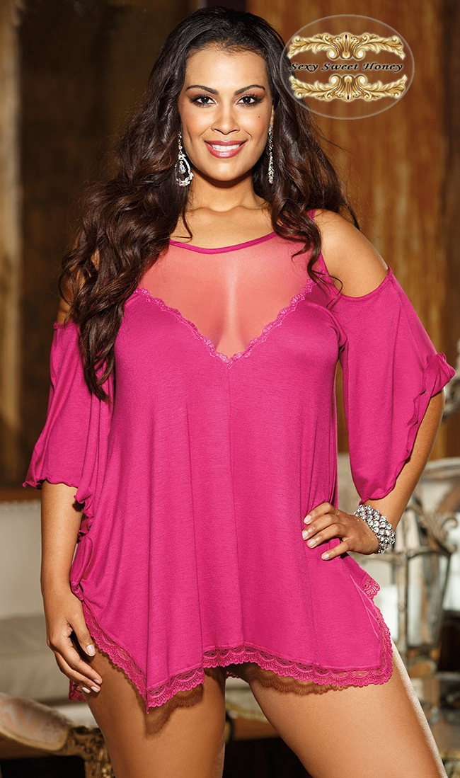 product Free shipping 2014 hote sale lady's sexy lingerie lace sleep wear 3 colors choose night wear sexy costumes vestidos <font><b>www</b></font> sex com