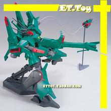 Free shipping action figures robot anime assembled Gundam MC HG 1:144 Green Du Ben Wolf luminous stickers original box gundam