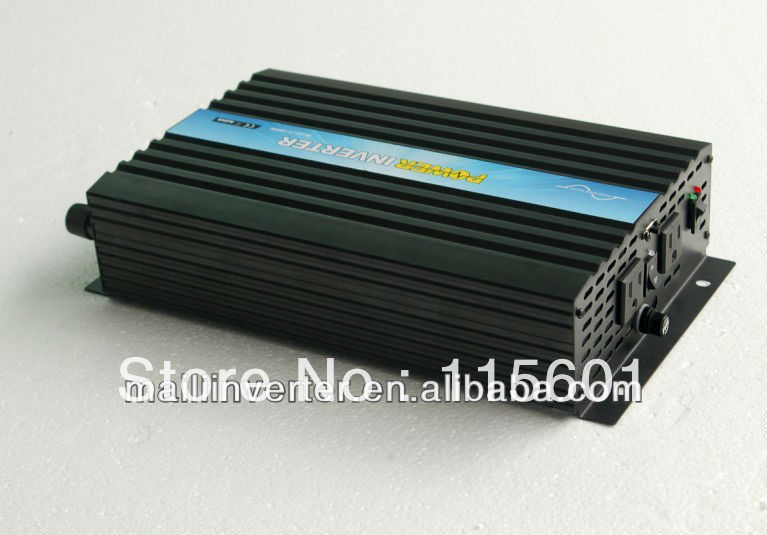 Factory Direct Selling 1500W 12V 110V Inverter DC TO AC Pure Sine Wave Inverter CE&SGS&RoHS Approved One Year Warranty(China (Mainland))