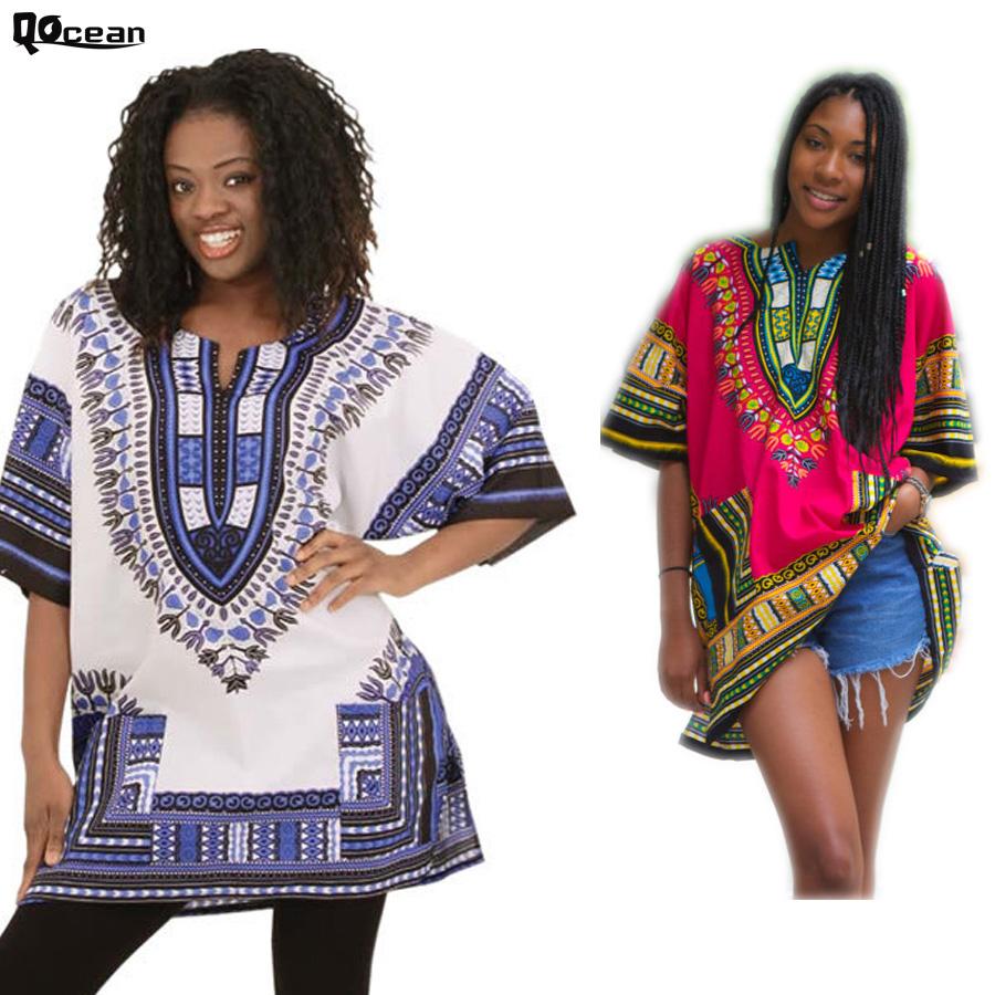 New Design Women Summer Casual Traditional African Dashiki Dress Print Maxi Tops Hot Sale RD148(China (Mainland))