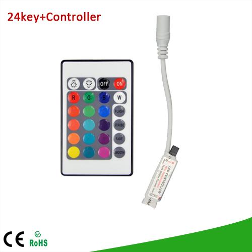 RGB контролер ATK 1 DC 12V 24 /rgb SMD3528 SMD5050 24KEY RGB Controller