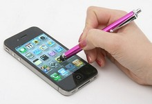 Stylus Touch Screen Pen for iPhone 5 4s iPad 3/2 iPod Touch Smart Phone Tablet PC Universal phone pen