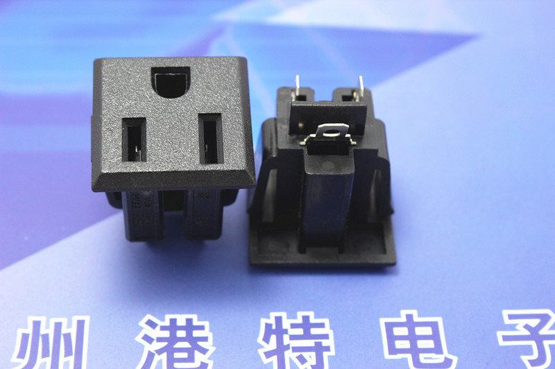 Genuine benefits high quality AC-05B power outlet United States standard ANSI 10A250V()