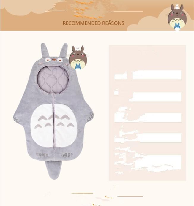 Скидки на 2016 новый животных Детские Спальный Мешок Дизайн Мультфильм Спальный Мешок Для Ребенка Новорожденных 0-12 Месяцев